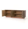 Oak and reclaimed elm sideboard