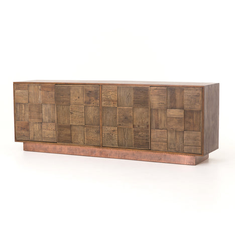 Oak and reclaimed elm sideboard - Hamptons Furniture, Gifts, Modern & Traditional