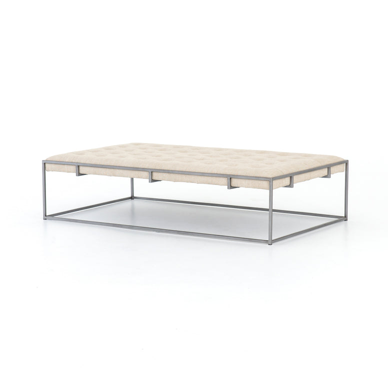 Modern Tufted Coffee Table - Hamptons Furniture, Gifts, Modern & Traditional