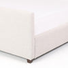 Upholstered bed with Channeled High Headboard - Hamptons Furniture, Gifts, Modern & Traditional