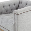 Nailhead Swivel Chair