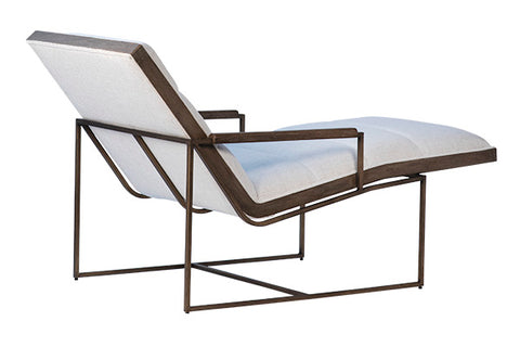 Chaise on metal Frame
