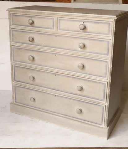 Antique Pine Dresser with painted finish