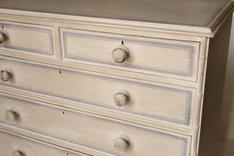 Antique Pine Dresser with painted finish - Hamptons Furniture, Gifts, Modern & Traditional