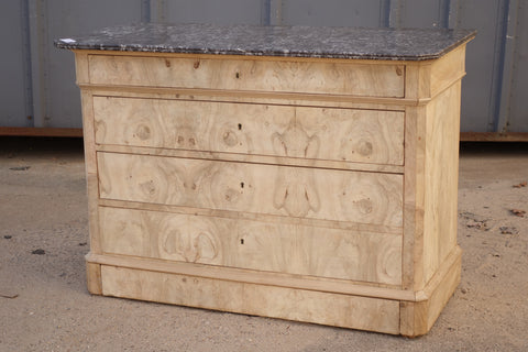Bleached Walnut Louis Philippe Dresser