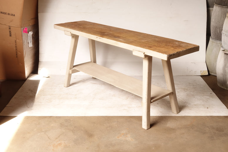 French Rustic Washing Table - Hamptons Furniture, Gifts, Modern & Traditional