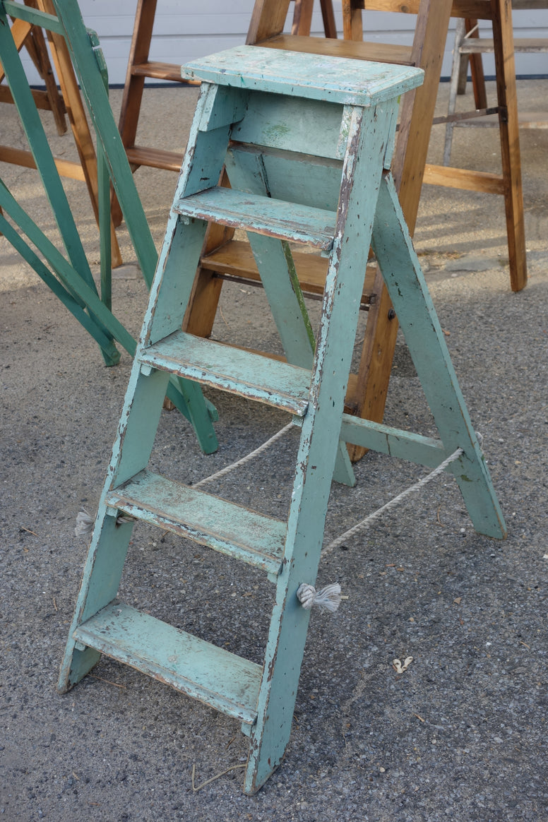 Antique Ladder - Hamptons Furniture, Gifts, Modern & Traditional