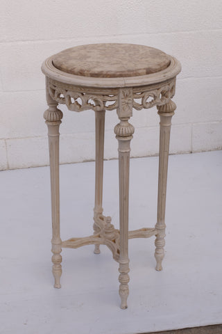 Marble Top Round Table - Hamptons Furniture, Gifts, Modern & Traditional