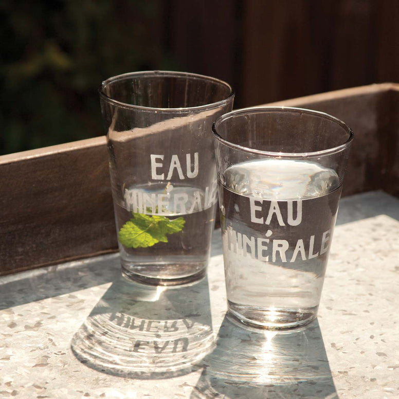 French Water Glasses