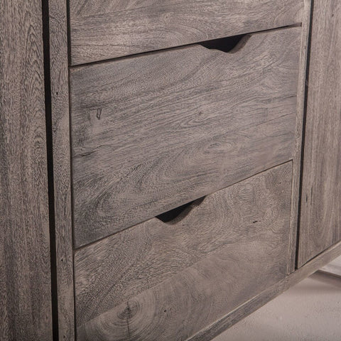 Grey Wash Hardwood Sideboard - Hamptons Furniture, Gifts, Modern & Traditional