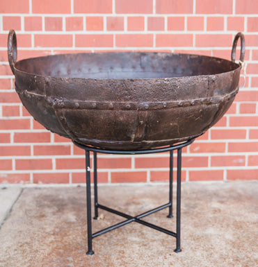 Vintage Style Fire Pit on Stand