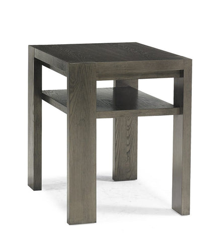Lightly Sand Blasted Oak Side Table