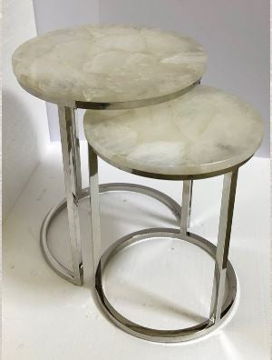 Quartz Nesting Tables