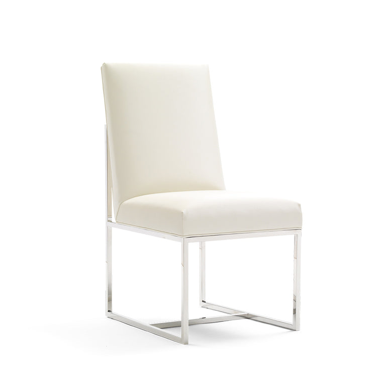 Modern Steel Side Chair - Gage chair