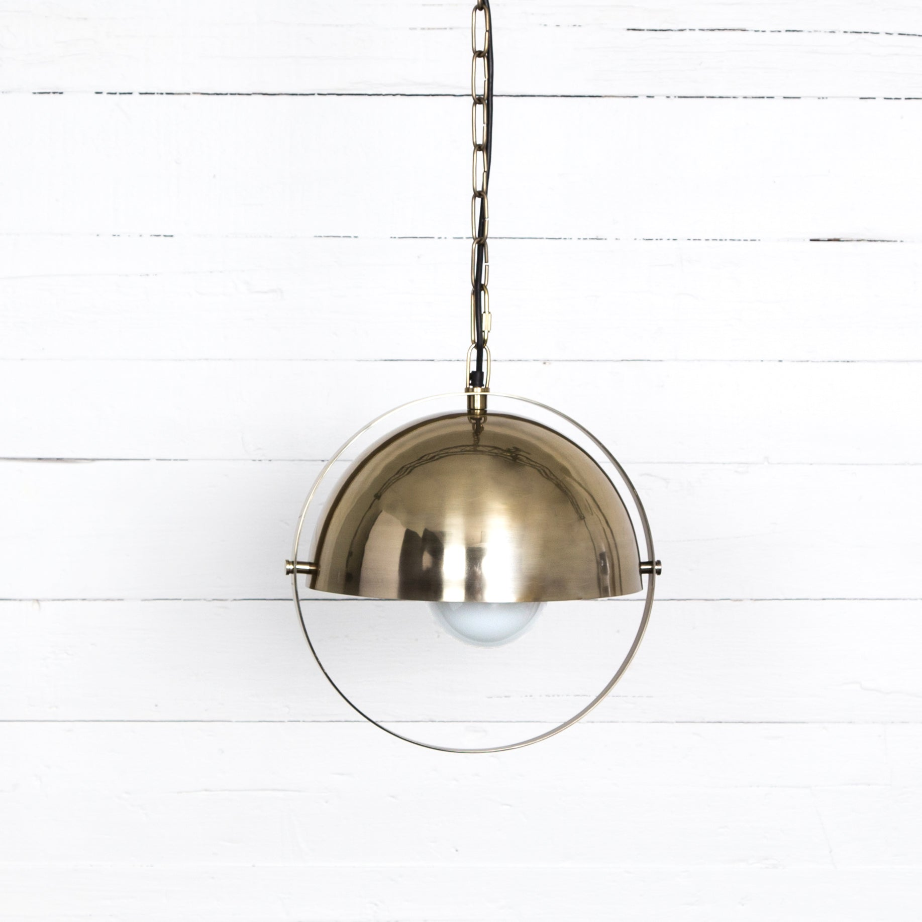 lighting products industville brooklyn pendant so lit inch brass dome