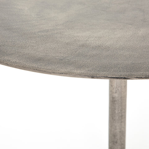 Round Metal Bistro Table
