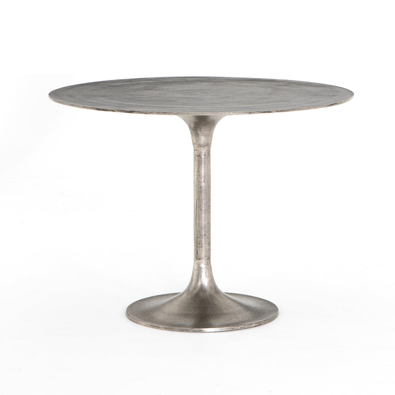 Round Metal Bistro Table - Hamptons Furniture, Gifts, Modern & Traditional