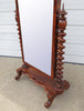English Walnut Standing Mirror - Hamptons Furniture, Gifts, Modern & Traditional