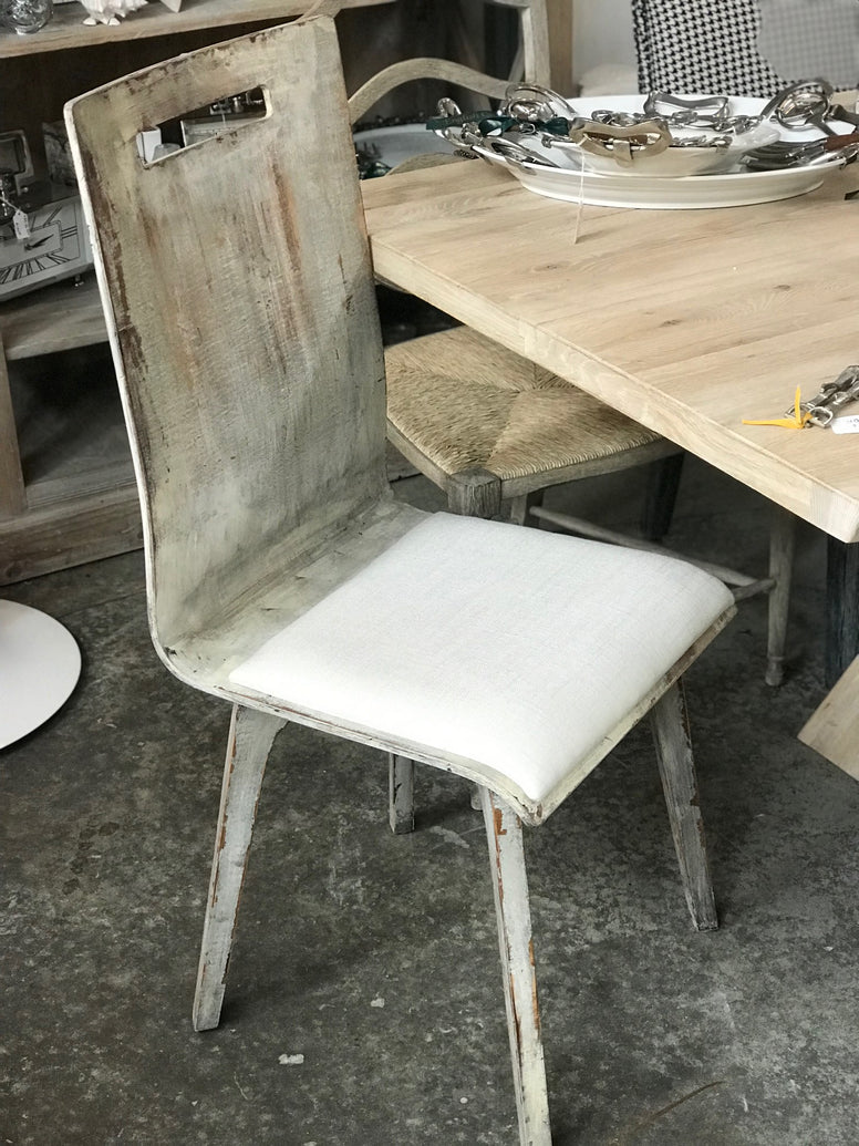 Modern Beechwood Side Chair