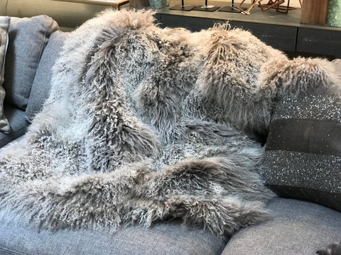 Large Sheepskin Throws