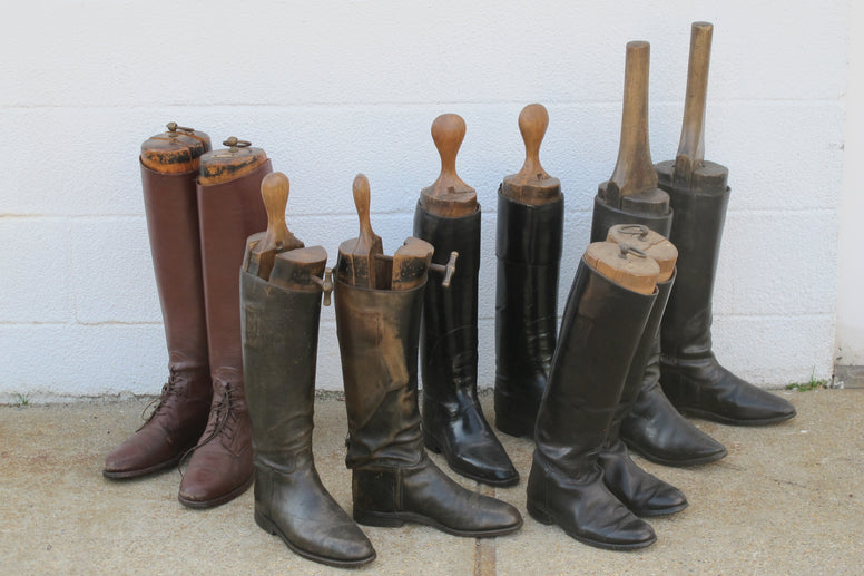 Vintage Riding Boots - Hamptons Furniture, Gifts, Modern & Traditional