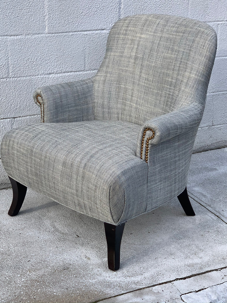 Traditional Style English Armchair