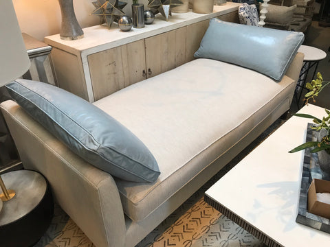 Lush Custom Upholstered Daybed