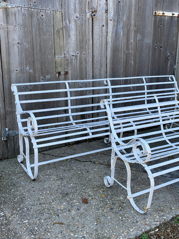 Unusual Garden Benches, very long - Hamptons Furniture, Gifts, Modern & Traditional