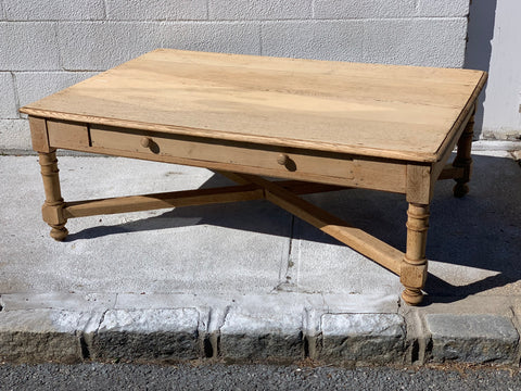 Bleached Oak Coffee Table