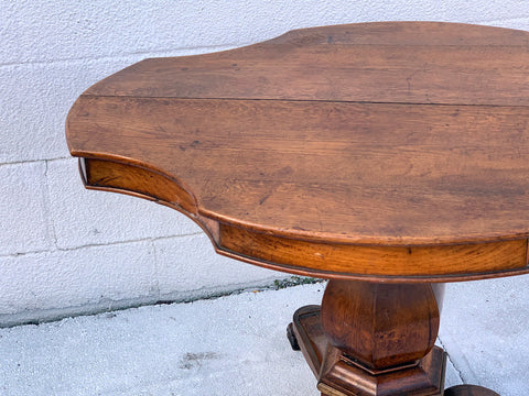 Pedestal Table in Oak. c 1860 - Hamptons Furniture, Gifts, Modern & Traditional