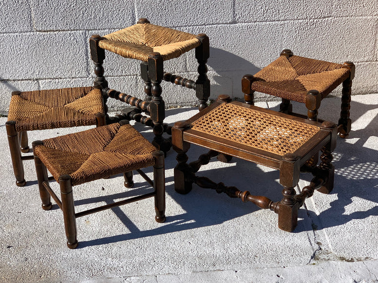 Antique foot stools - Hamptons Furniture, Gifts, Modern & Traditional