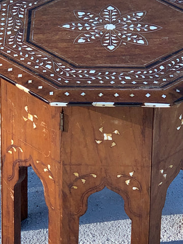 Syrian Side Tables with Inlay