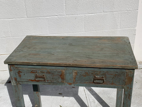 Vintage Painted Desk or Side Table - Hamptons Furniture, Gifts, Modern & Traditional