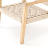 Low Side Chair with woven seat and back - Hamptons Furniture, Gifts, Modern & Traditional