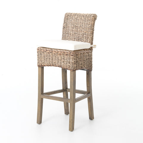 Abaca Leaf Bar or Counter Stools