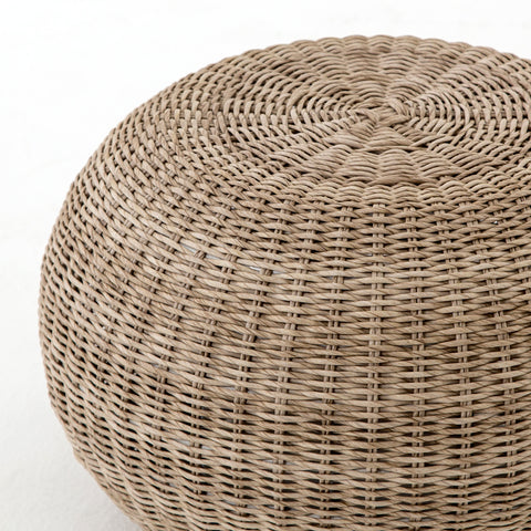 Outdoor Ottoman or Stool - Hamptons Furniture, Gifts, Modern & Traditional