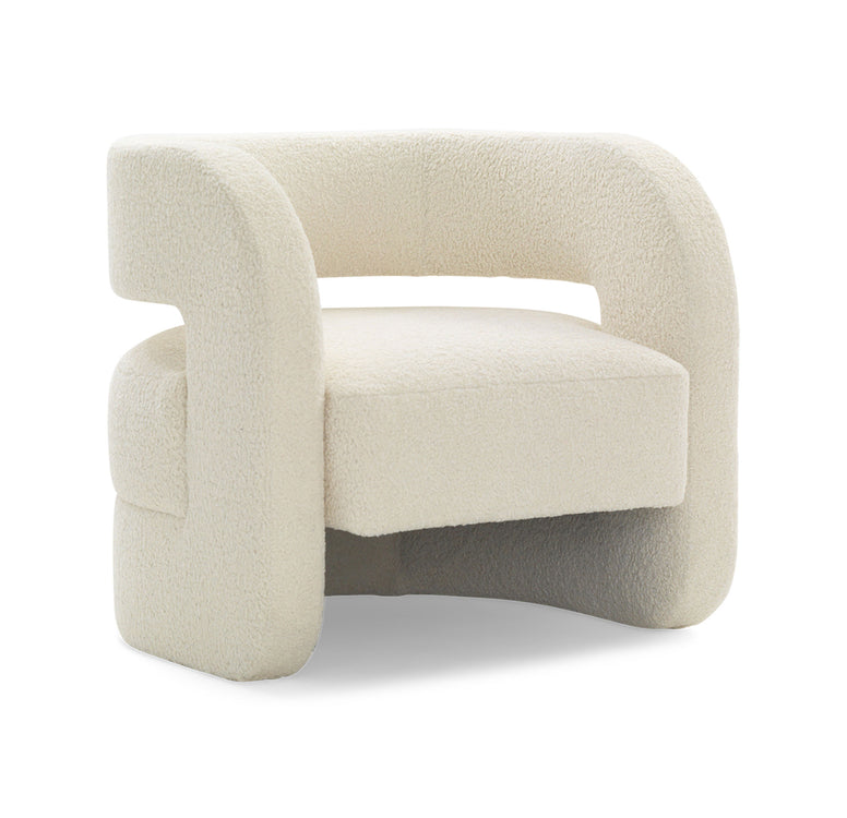 Modern Open Back Armchair - Hamptons Furniture, Gifts, Modern & Traditional