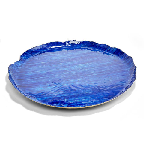 Enamel Trays in shades of Blue