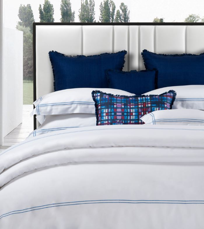 DEA Embroidered Linens; Lajatico - Hamptons Furniture, Gifts, Modern & Traditional