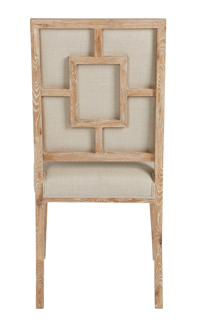 Whitewashed Dining Chair