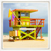 Miami Life Guard Fine Art Prints