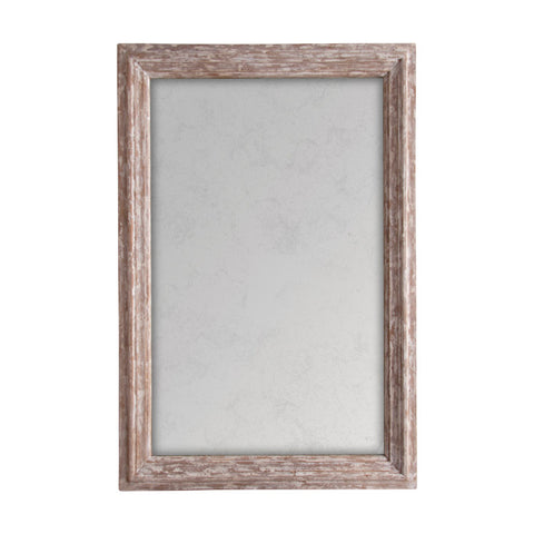 Rectangular Mirror with antiqued glass