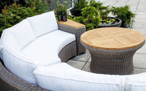 Rounded Outdoor Sofa