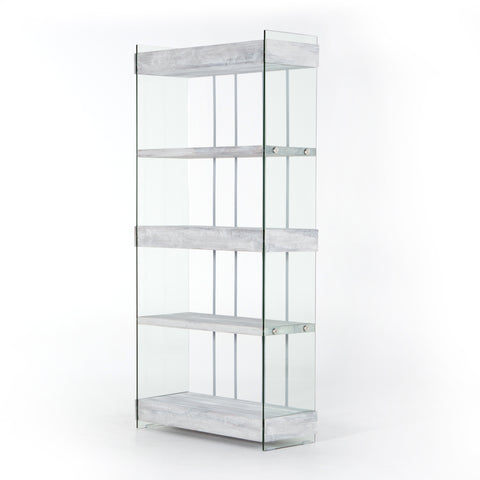 Tall Modern Shelves