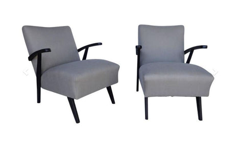 Pair 1940's Armchairs