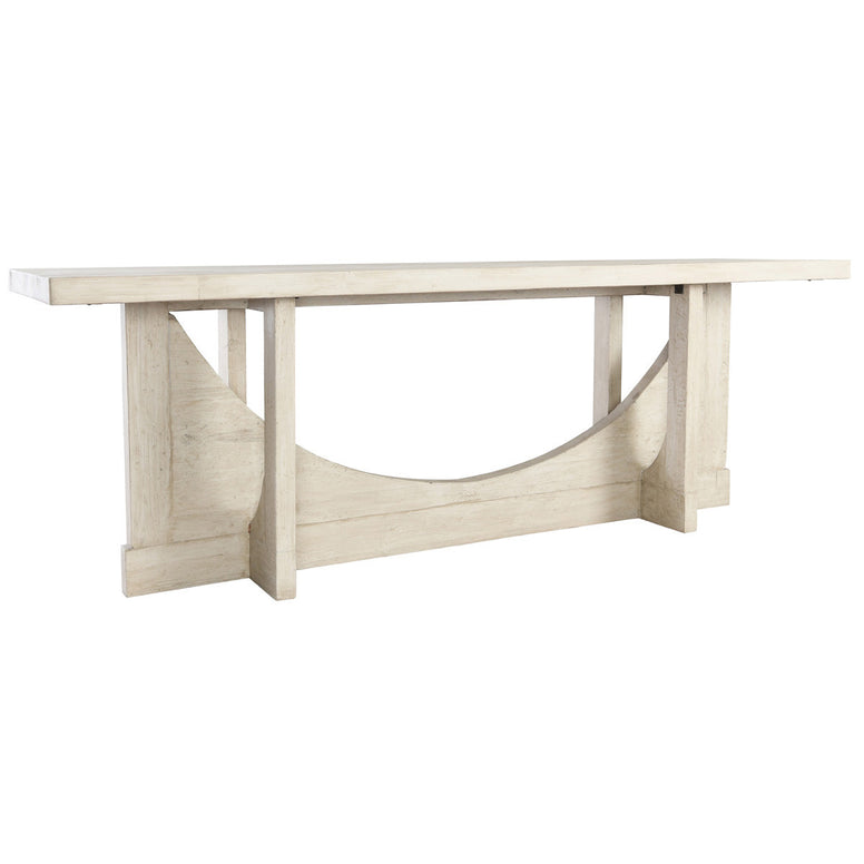 Very Large Reclaimed Wood Console Table