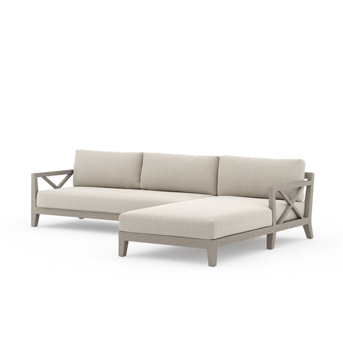 Indoor - Outdoor Two-Piece Sectional - Hamptons Furniture, Gifts, Modern & Traditional