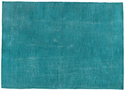 Aqua Colored Indoor/Outdoor Rug
