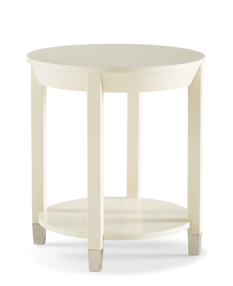 24 inch Diameter Side Table with 4 Legs