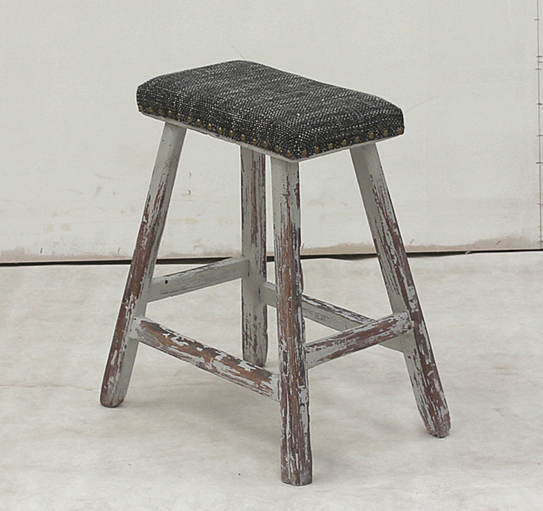 Vintage Style Stool - Hamptons Furniture, Gifts, Modern & Traditional